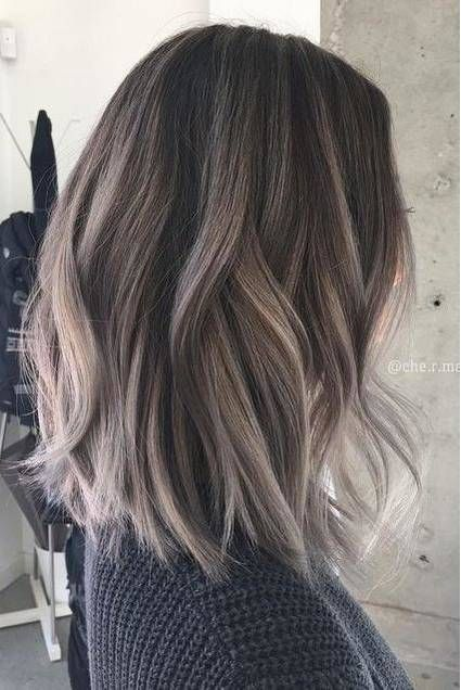 The Biggest Hair Color Trends For 2018 | hair | aschbraunes Haar