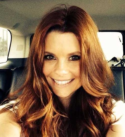Ladies Favorite 15+ Auburn Haarfarbe Bilder | Beauty | Joanna garcia
