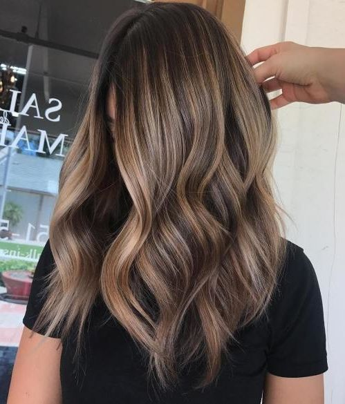 35 Balayage Hair Color Ideas for Brunettes in 2019, The French hair