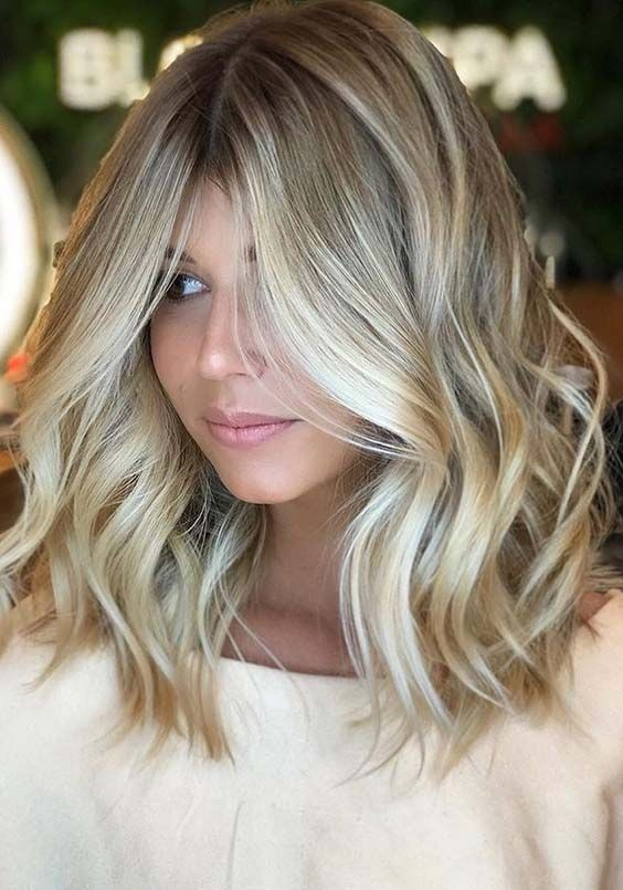 32 Lovely Tones of Blonde Hair Colors 2018 in Different Levels