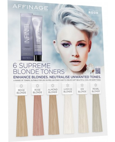 Affinage Infiniti Colour Toners 60 ml ∣ stopperka.de