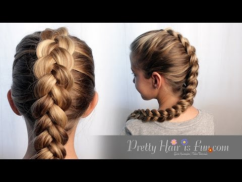 HOW TO DUTCH BRAID HAIR TUTORIAL!! ??❤ - YouTube