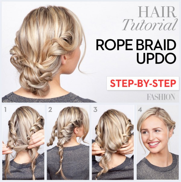 Step-by-Step Braided Hair Tutorials To Copy This Spring - fashionsy.com