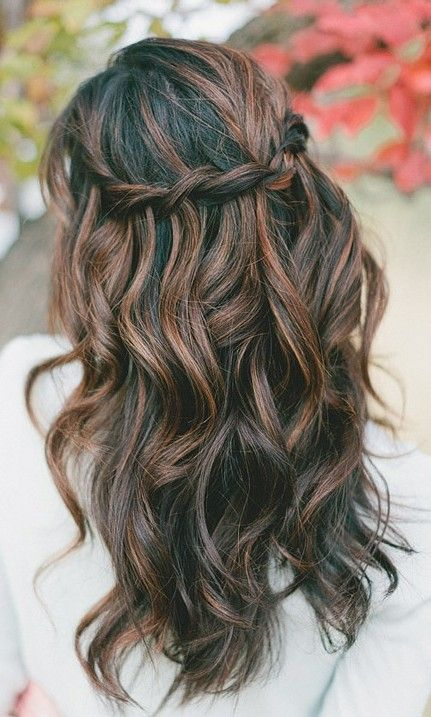 hair colour for highlights long | A very Lara wedding in 2019