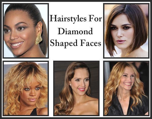 30 Stunning Hairstyles For Diamond Faces   Hair trends   Face shape