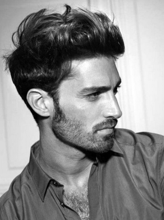 mens hairstyles for thick wavy coarse hair - Hair Style Ideas