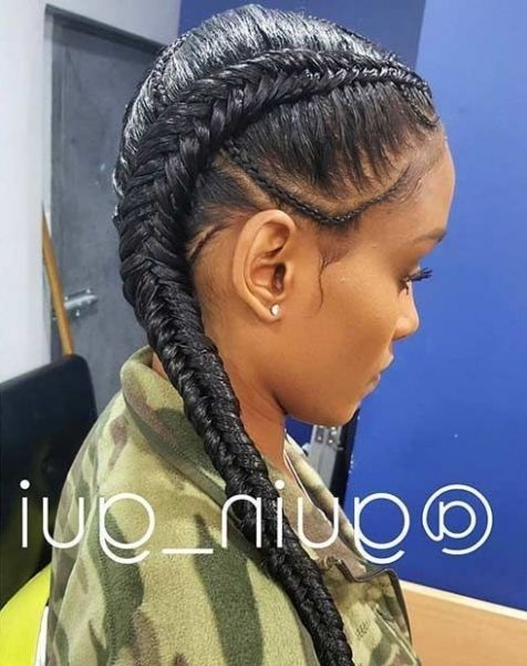 25+ Best Ideas About Two Cornrow Braids  | Hairstyles We Can Rock