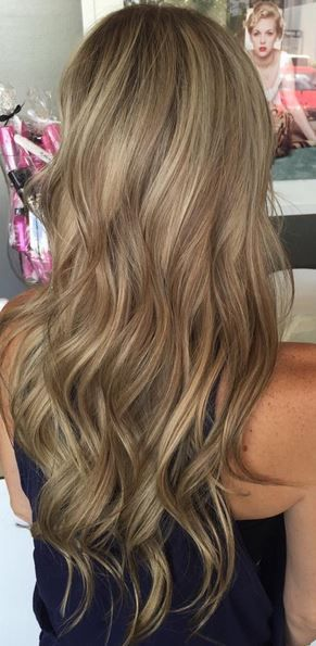multi toned blonde and bronde highlights | Hair | Pinterest