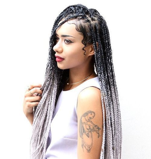 50 Exquisite Box Braids Hairstyles That Really Impress | Protective