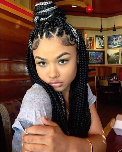 51 Hot Poetic Justice Braids Styles | StayGlam Hairstyles | Box
