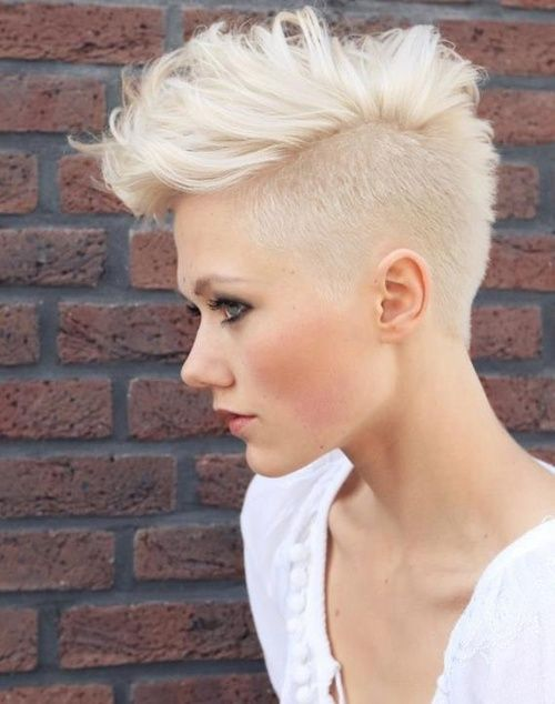 24 Edgy and Out-of-the-Box Short Haircuts for Women | Fohawked