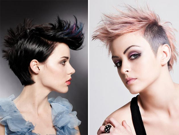 Best Mohawk and Fauxhawk Hairstyles for Women | Fashionisers©