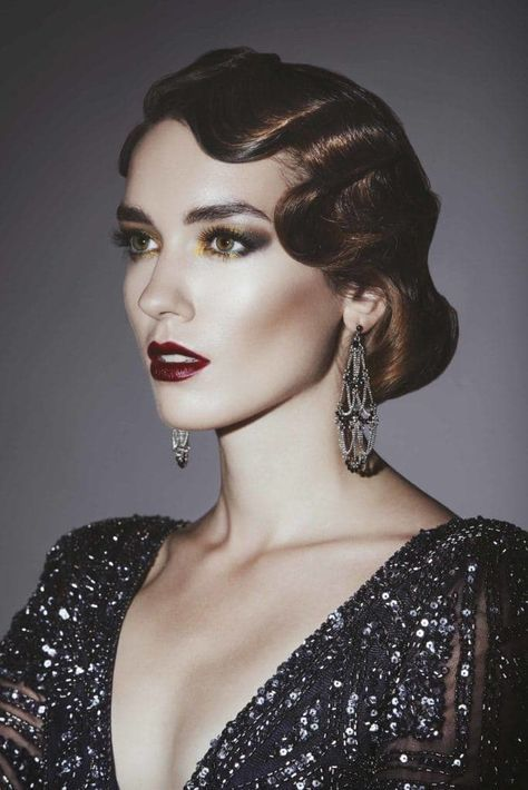 Great Gatsby hair: All Things Hair - IMAGE - finger waves 1920s
