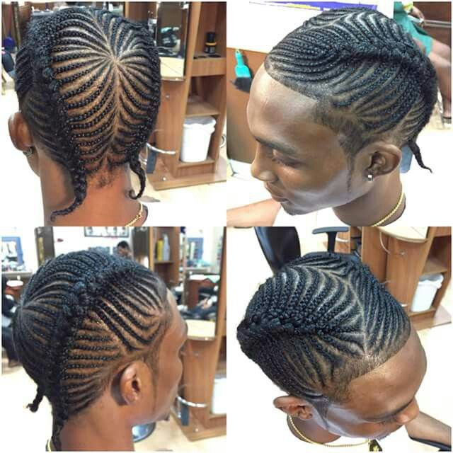 Fish bone in two | braids and styles by kanisha in 2019 | Boy braids