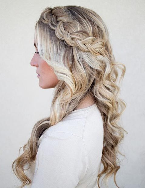 26 Stunning Half Up, Half Down Hairstyles | Hairstyle | Pinterest
