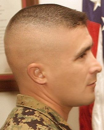 High & Tight Fade | Buzz | Military style haircuts, Hair cuts, Thin