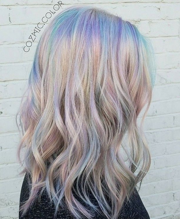 Holographic Hair is the Latest Trend to Take Over Instagram   Mane