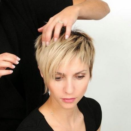 super cute short haircuts found, which are also suitable for women
