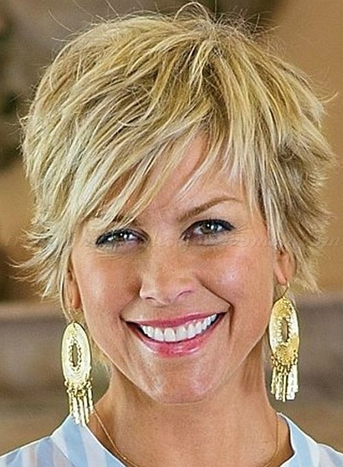 short hairstyles over 50, hairstyles over 60 - shaggy hairstyle for