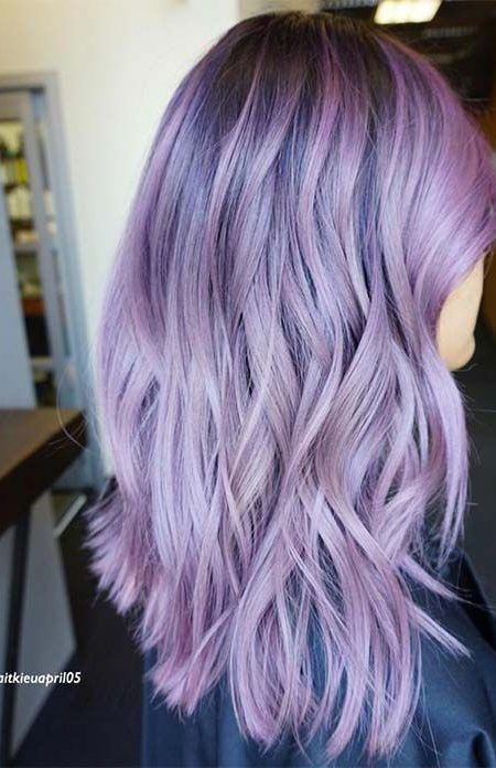 Lila Balayage Haarfarbe | **All About That Hair** | Lavender hair
