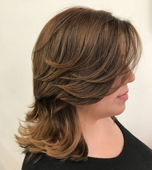 51 Stunning Medium Layered Haircuts (Updated for 2019)