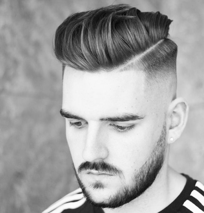 85 Popular Hard Part Haircut Ideas - Choose Yours [2019]