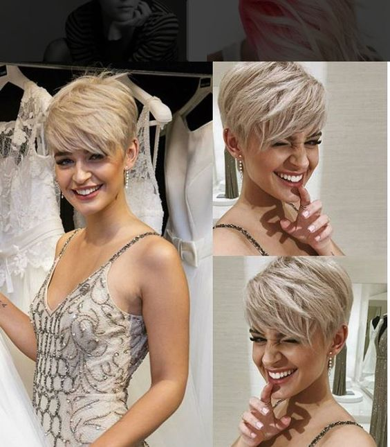 10 Trendy Pixie Hair Cut Bilder für Blondinen - Frisuren 2018-2019