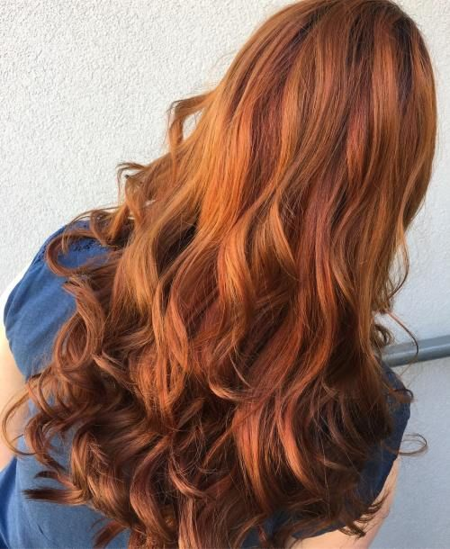 20 Burnt Orange Hair Color Ideas to Try in 2019 | FASHION, BEAUTY