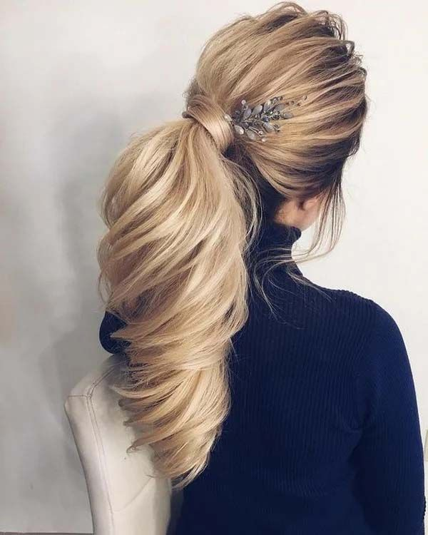 New Modern and Stylish Wedding & Party wear Hairstyle 2019