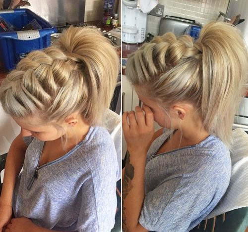 Braided Ponytail Hairstyles | 40 Cute Ponytails with Braids