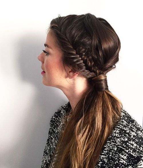 35 Super-Simple Messy Ponytail Hairstyles |