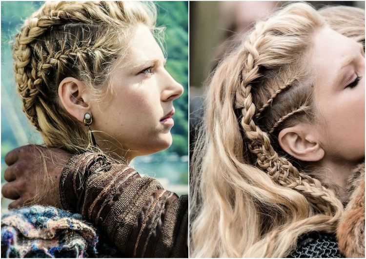Frisuren Wikinger Frauen | Frisuren | Viking hair, Lagertha hair und