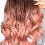 Rose Gold Haare