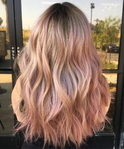 20 Brilliant Rose Gold Hair Color Ideas in 2019 | hair&makeup | Gold