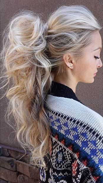 25 Elegant Ponytail Hairstyles for Special Occasions | прически