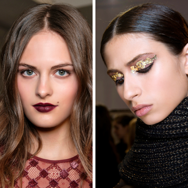 Party Styling 2018: Make-up und Frisuren für die Feiertage