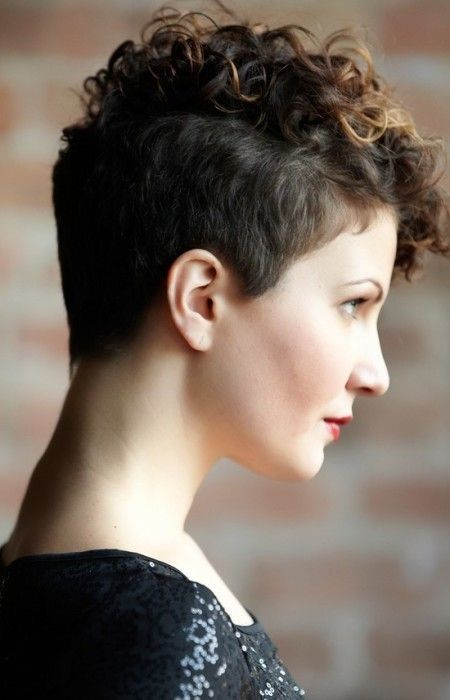 18 Textured Styles for Your Pixie Cut | Hairstyles | Short Curly