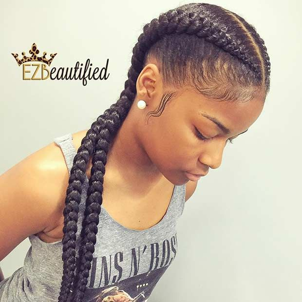 31 Cornrow Styles to Copy for Summer | beautiful African hair