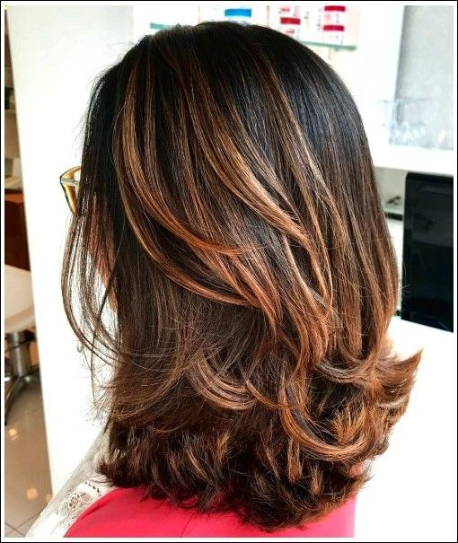 10 Besten mittellangen geschichteten Frisuren 2019 – Haircutsbest.tk | Best Haircut Ideas