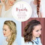 10 Braids Every Girl Should Know How to Do - Six Clever Sisters