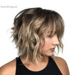 10 New Ways to Sport Short Wavy Hair with Bangs