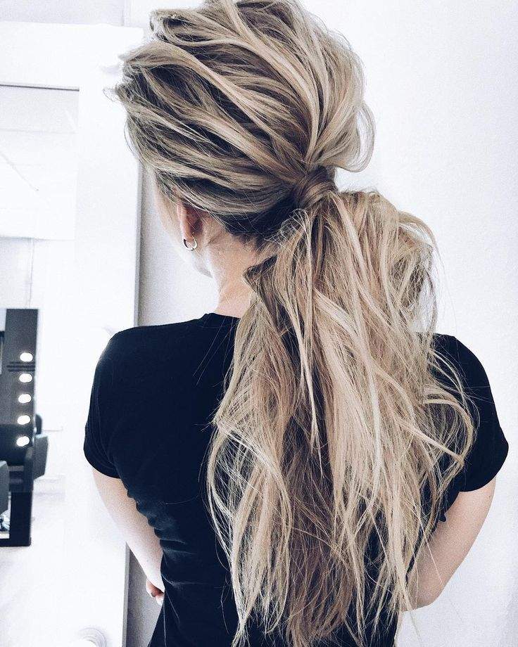 10 creative ponytail hairstyles for long hair, summer hairstyles – Mary Haircuts