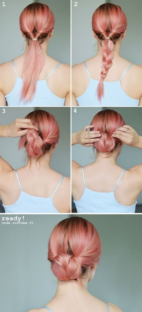 12 Easy Hairstyles For Any and All Lazy Girls – Pretty Designs