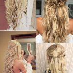 15 Chic Half Up Half Down Wedding Hairstyles for Long Hair - EmmaLovesWeddings