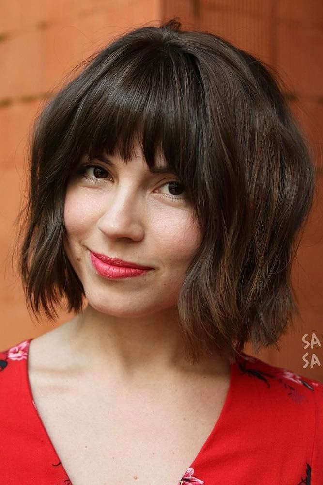 22 Nice and Flattering Hairstyles With Bangs | LoveHairStyles.com