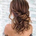 39 Gorgeous Half Up Half Down Hairstyles - Fabmood | Wedding Colors, Wedding Themes, Wedding color palettes