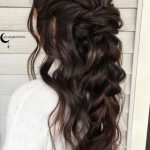 30 Chic Half Up Half Down Bridesmaid Hairstyles | LoveHairStyles.com