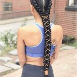 Useful 19 Two French Braids Black Hairstyles | New Natural Hairstyles