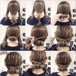 25 fast hairstyles for medium and long hair for every day. - Site Today