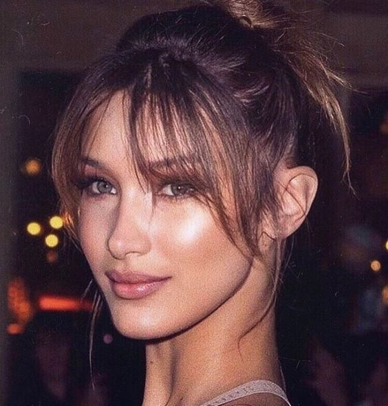 """17 Wispy Bangs Styles From Celebs Whose Bangs Are Always """" Too Good"""" 